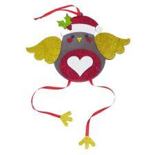 LOTTO Glitter Schiuma Bambini Natale Craft Kit-RED ROBIN da Appendere Decorazione Albero
