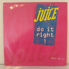 "Juice ‎– Do It Right! (Vinyl, 12"", Maxi 45 Tours)"