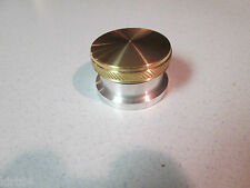 Brass Non Vented Gas Cap and Aluminum Bung Kit chopper Weld in Npt Bobber