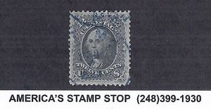 1861 US SC 69 Washington - Used, Blue CDS Cancel, XF