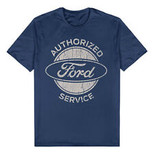 FORD AUTHORIZED SERVICE DESIGN T-SHIRT NAVY SIZE 4XL