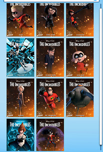 Topps Disney Collect Digital - Incredibles 15th Anniversary Motion Set w/AWARD
