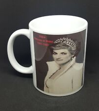 Princess Diana tribute mug Royal Family Queen Wales free gift box