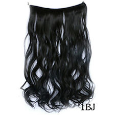 Wavy Curly Hair Piece Extensions Hidden Halo Invisible Wire Piece Secret Miracle