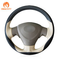 Leather Steering Wheel Cover Wrap for Toyota Corolla Matrix Auris 2007-2009