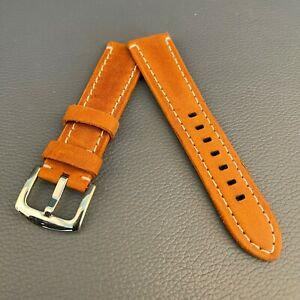 Men's Two-Piece Eco Leather watch strap 22mm