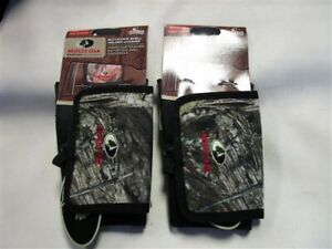 MOSSY OAK MO-LBSHS BUTTSTOCK SHELL HOLDER PAIR ( 2 ) WITH COVER CAMOUFLAGE
