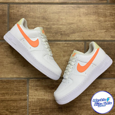 Nike Air Force 1 AF1 White Atomic Pink Fossil Women Shoes 315115-157