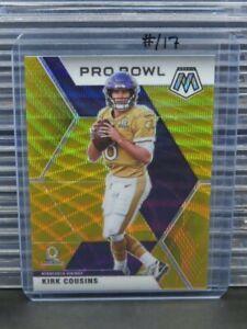 2020 Mosaic Kirk Cousins Pro Bowl Gold Wave Prizm #13/17 Vikings R506