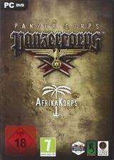 Panzer Corps Afrika-Corps Orginal Spiel PC Top Zustand mit Handbuch