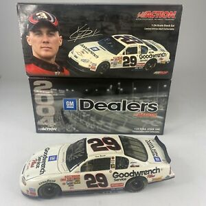 1/24 Action 2004 Kevin Harvick Goodwrench Gm Dealer Edition Signed
