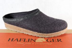 Haflinger Men's Slippers Graphite 713001 New