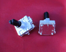 Lot 2 ALPS Rotary Encoder ec16b 24 Pulse 20mm D-Shaft 19X16mm PC Mount