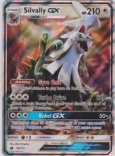 Pokemon SM - Crimson Invasion Silvally GX 90/111 Ultra Rare Card