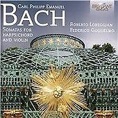 C.P.E Bach: Sonatas, Federico Guglielmo, Roberto Lore CD | 5028421949024 | New