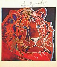 Kunstdrucke mit Lithographie-Technik mit Tier Handsignierte