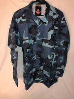 Tru-Spec/Rothco Military Uniform Jacket Top Dark Blue Camouflage X Large Regular