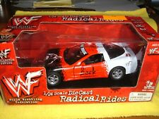 Radical Rides WWF The Rock C-5 Corvette Diecast 1:24 Scale Collector Series NIB