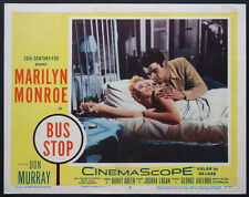 BUS STOP MARILYN MONROE IN BED 1956 LOBBY CARD #5