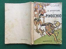 COLLODI - LE AVVENTURE DI PINOCCHIO Ed.Marzocco (1946) ill. ATTILIO MUSSINO