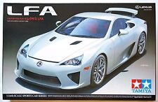 TAMIYA 1/24 Lexus LFA (Toyota) scale model kit sports car series #24319