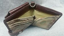 Travelon - Brown Leather ID Wallet, used