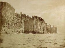 c1890, John Watt BEATTIE, Cape RAOUL, LARGE albumen photograph, TASMANIA