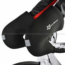 RockBros Winter Cycling Gloves Road Bike Handlebar Mittens Hand Warmers Covers