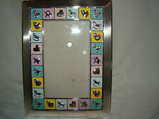 "Baby Picture Frame - Used - Frame Size 7 1/2"" x 5 1/2"" - Photo Size 6"" x 4"""