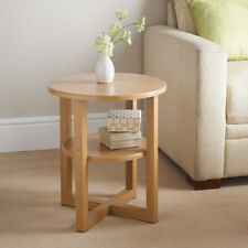 Small Wood Coffee Table Furniture 50x50cm - Oak