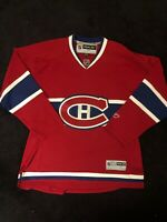 Officially Licensed NHL Reebok CCM Jersey Montreal Canadiens Size XL New No Tags