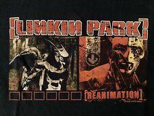 New listing Linkin Park T Shirt Reanimation Xl 2002 Black Anvil