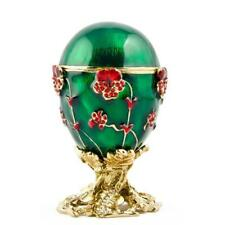 1899 Pansy Russian Royal Russian Egg 2.5 Inches