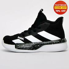 Adidas Pro Next 2019 Junior Kid's Basketball Court Trainers Sports Shoes Black