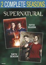 Supernatural: Seasons 5 & 6 (DVD,2017)