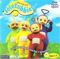 Play with the Teletubbies - CD-ROM - VERY GOOD