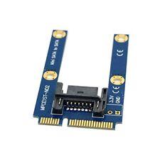 Raccomandata P. - Tester da 50mm Mini PCI-E mSATA SSD a Flat SATA 7pin Hard Disk