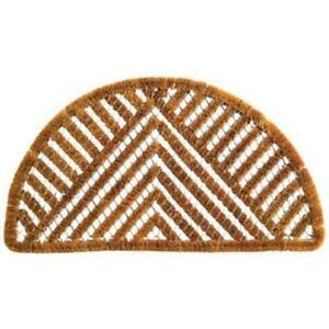 Imports Decor 853SDM Half-round Spiral Doormat Triangle