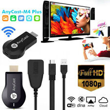AnyCast M4 Plus WiFi Receiver Airplay Display Miracast HDMI Dongle TV DLNA 108G2