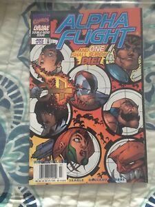Alpha Flight (1997 series) #12 in Vf+/nm- Marvel comics