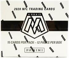 2020 PANINI MOSAIC FOOTBALL MULTI/CELLO PACK BOX