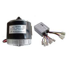 24V 350W Brush Electric Motor and Controller for Go kart ATV Razor MX350 E300