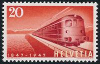 SCHWEIZ 1947, MiNr. 486 I, Plattenfehler, tadellos postfrisch, Mi. 170,-