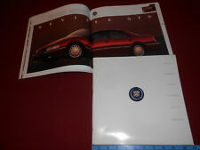 1992 CADILLAC HUGE 80 Page 11 x 11 PRESTIGE BROCHURE / 92 CATALOG ALL MODELS!