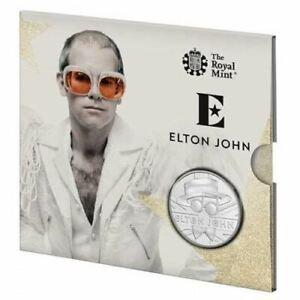Elton John 2020 UK Brilliant Uncirculated Coin