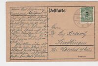 germany 1920s stamps card ref 18979