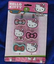 Hello Kitty Stackable Pencil Erasers ~  set of 6