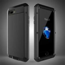 iPhone Samsung Armor Cover Case Luxury Metal Aluminum Shockproof Waterproof