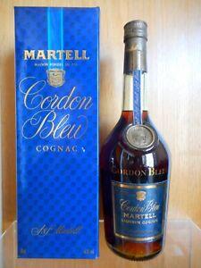 RARE OLD BOTTLE COGNAC MARTELL CORDON BLEU LIMITED, 70 CL., 40% VOL.
