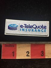 e-TeleQuote Insurance - Advertising Patch 78F2